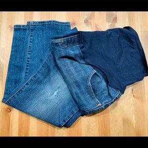 Old Navy Full Panel Maternity Skinny Jeans
